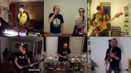 Bosnische Band erfreut Fans mit Quarantäne-Show
