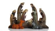 Egal, ob Caspar oder Melchior der schwarze König war, das konnte sich ändern: Krippenfiguren aus unbekannter Sammlung