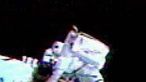 """""""Discovery""""-Astronauten beenden Außenmission"""