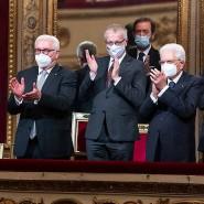 Bundespräsident Frank-Walter Steinmeier in Italien