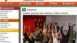 Grimme online ehrt seine Preisträger zu früh