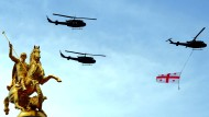 Militärparade in Tiflis
