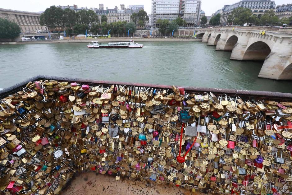 Liebesschlosser In Paris