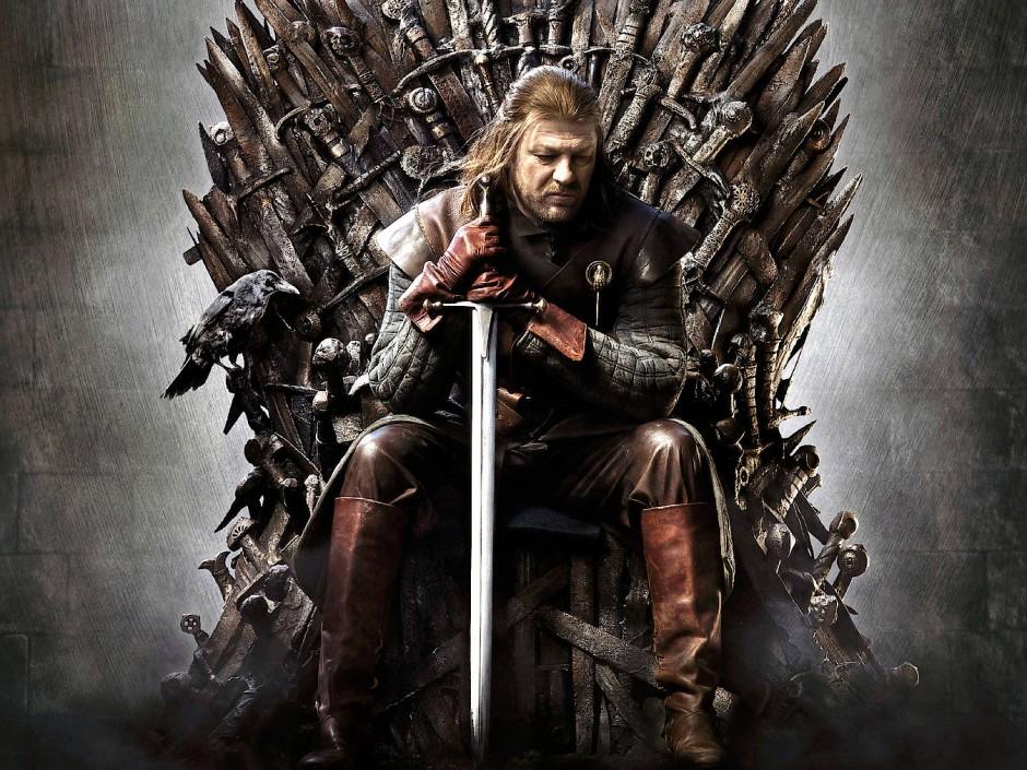 """Einstiegsdroge für die Mittelalterschwärmerei: """"Game of Thrones"""" mit eisernem Thron und unzähligen Schwertern."""