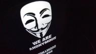 """""""Wir sind Anonymous"""": Das kann jeder sagen. Und so hatten die Hacker große Mühe, Echt von Unecht zu unterscheiden."""