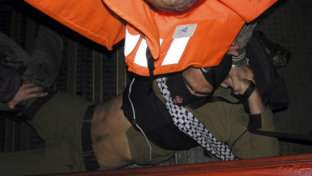 Gaza-Flotte: Messer wurden weggeschnitten