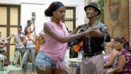Die Tänzerin Yanisleiki Castillo bei der Rumba