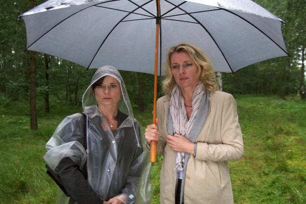 Maria furtwängler links und ihre kollegin malchus inka friedrich