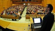 Vorlesung an der Universität Tübingen