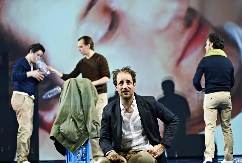Plappereien der Ich-Erzähler: Martin Vischer, Dominik Maringer und Oscar Olivo
