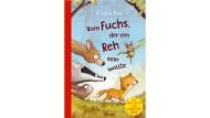 """Kirsten Boie: """"Vom Fuchs, der ein Reh sein wollte"""". Roman. Mit Bildern von Barbara Scholz. Oetinger Verlag, Hamburg 2019. 192 S., geb., 16,– Euro. Ab 8 J."""