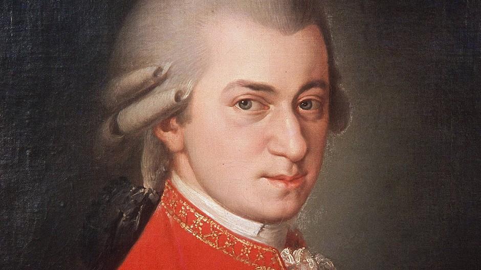 Dieses Porträt von Wolfgang Amadeus Mozart entstand erst 1819.