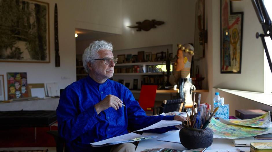 Er ist ein vielseitiger Künstler, aber auch ein Musiker: André Heller
