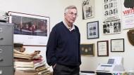 Seymour Hersh in seinem Büro in Washington DC.