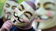"""""""We are Legion"""": Das Hacker-Kollektiv Anonymous schaffte es jüngst in die """"Time""""-Liste der 100 einflussreichsten Personen 2012"""