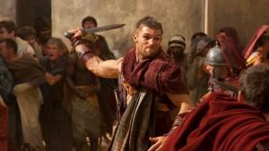 Schwertkämpfer laufen Amok
