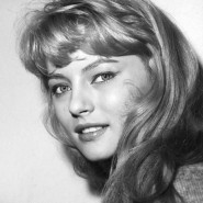 "Karin Baal 1958 als ""Das Mädchen Rosemarie"""