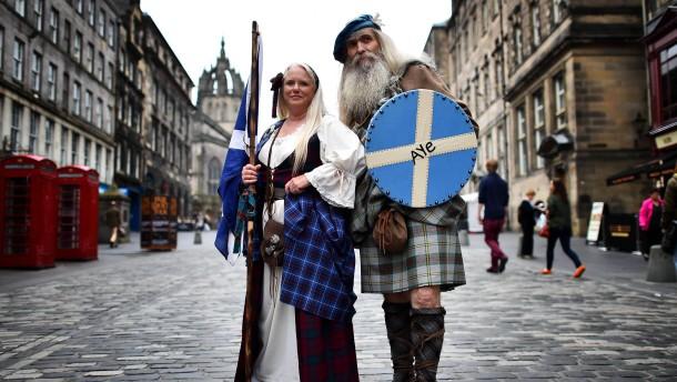 Die spinnen absolut nicht, die Schotten
