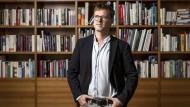 Tom Kraushaar, verlegerischer Geschäftsführer des Klett-Cotta-Verlags in der Berliner F.A.Z.-Redaktion