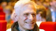 Schriftsteller Rainald Goetz bei der Verleihung des Büchner-Preises