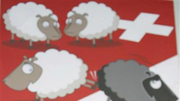 Wenn der Kritiker die Schweizer Schafe trifft