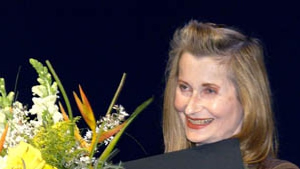 Elfriede Jelinek mit Berliner Theaterpreis geehrt