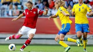 Gastgeber Schweden verpasst Sieg über Dänemark