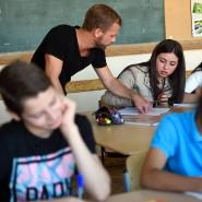 Erleichterung, wenn das Horrorszenario in der Klasse ausbleibt