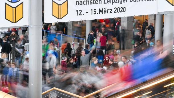 Leipziger Buchmesse wird abgesagt