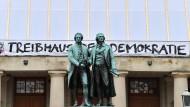 """Deutsches Nationaltheater Weimar zur """"Woche der Demokratie"""" 2019."""