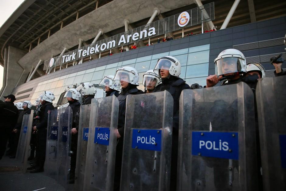 Die Arena ist Geschichte: das Stadion von Galatasaray Istanbul