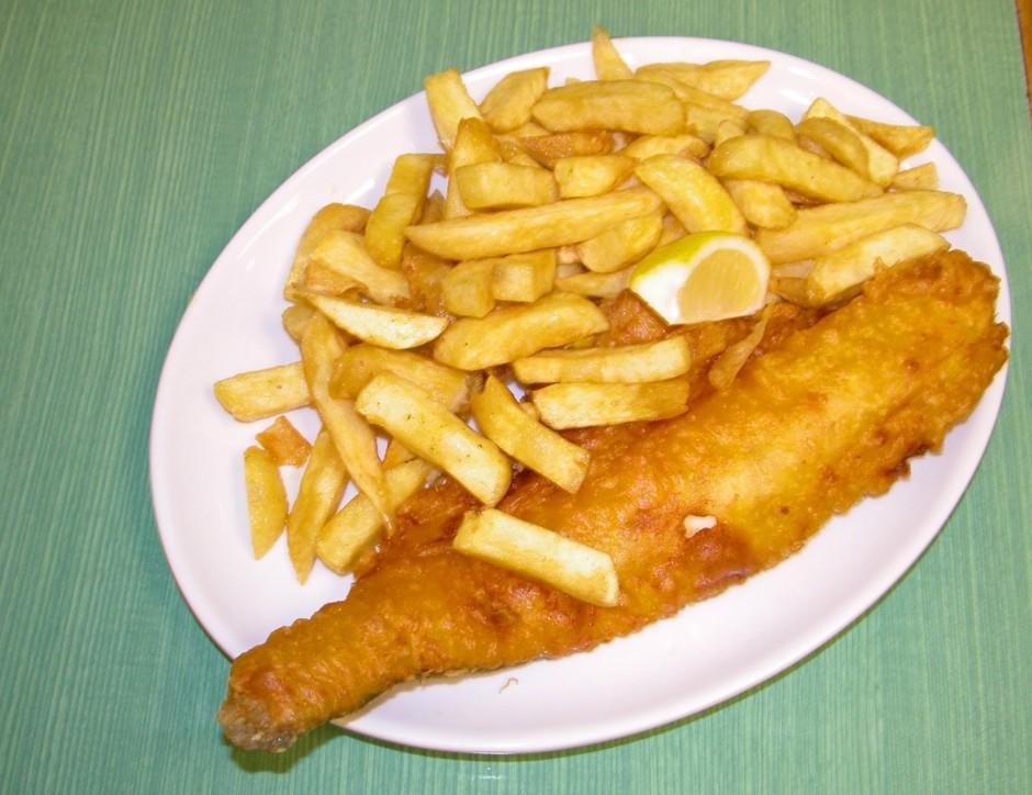 Das britische Nationalgericht Fish'n'Chips: Die Entscheidung, weniger zu essen, stellt keine reale Option dar