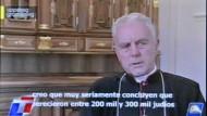Bischof Richard Williamson behauptet vor laufenden Kameras, nur 200.000 bis 300.000 Juden seien in NS-Konzentrationslagern umgekommen