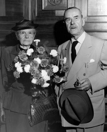 Was wollen Sie? Thomas Mann mit seiner Frau Katia, 1949