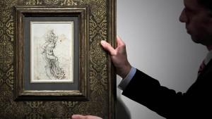 Wertvolle Zeichnung Leonardo da Vincis entdeckt