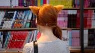 Manga-Bücherfuchs: In Leipzig stehen die Leser im Mittelpunkt, und die allermeisten stammen aus der Region.