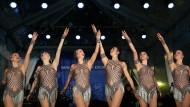 Die Tanztruppe The Rockettes durfte nicht mehrheitlich entscheiden – ihr Management sagte Trump zu.