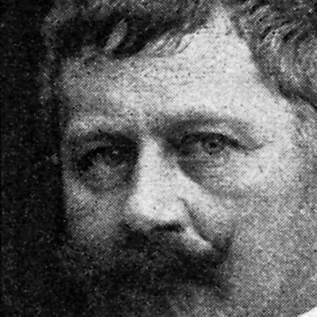 Der dänische Schriftsteller Gustav Johannes Wied (1858-1914)