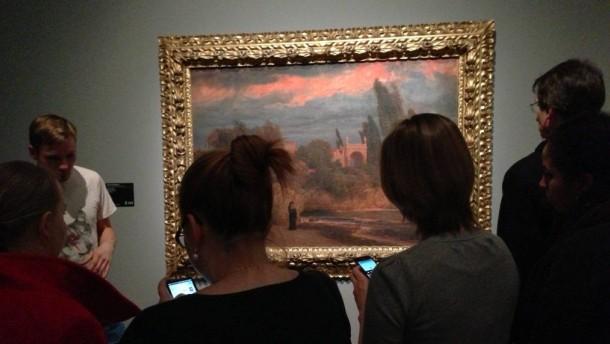 Twittern im Museum