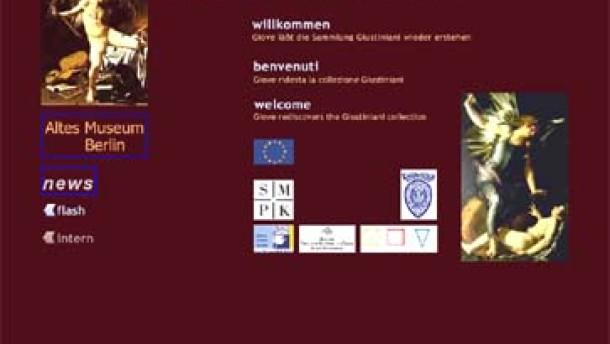 Virtuelle Ausstellung der Giustiniani Sammlung