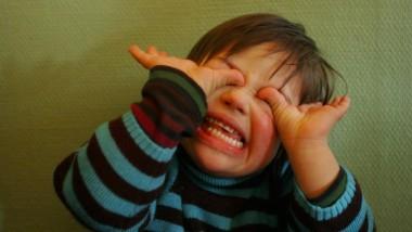 Vierjährige mit Downsyndrom