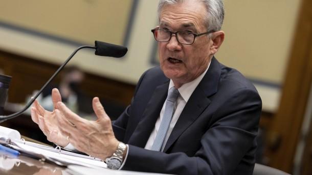 Fed-Chef Powell denkt laut über Vorteile von US-Digitalgeld nach