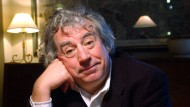 Terry Jones, geboren am 1. Februar 1942, gestorben am 21. Januar 2020, im Januar 2003 in London
