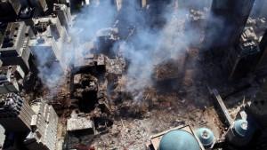Islamisten am Ground Zero
