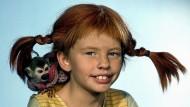 Machte sich die Welt, wie sie ihr gefällt: Inger Nilsson 1969 als Pippi Langstrumpf