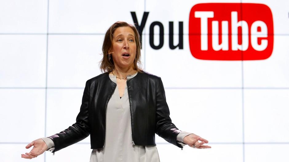 Geschäftstüchtig: Youtube-Chefin Susan Wojcicki im Februar 2017 in Los Angeles