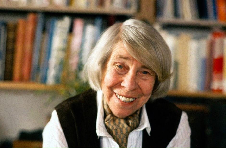 Weltbekannt für ihre Mumins: die finnische Malerin Tove Jansson (1988)
