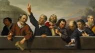 """Eine milde Gabe! Um 1630 malte Jan van Bylert """"Die Insassen des Hiobshospitals in Utrecht""""."""