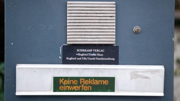 Suhrkamp in Frankfurt