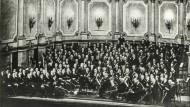 Die Preußische Staatskapelle im Jahr 1928, geleitet von Erich Kleiber